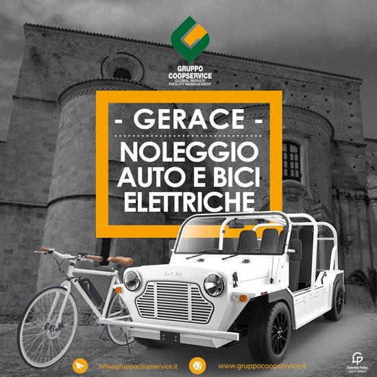 Gerace - Noleggio Auto e bici elettriche